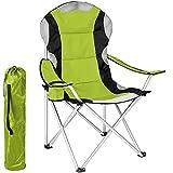Best sillas de camping - BAKAJI plegable silla de camping acolchada con bolsa Review