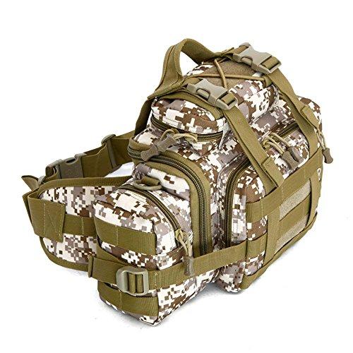 ZHANGRONG- Multifunktionale Außentaschen Camouflage Sporttasche Freizeit auf einer Bergsteigen-Tasche Ausstattungspaket (Mehrfache Farben vorhanden) 4