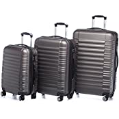 3 tlg. LG2088 Reisekofferset Koffer Kofferset Trolley Trolleys Hartschale in XL/76cm--L/66cm--M/54cm in 14 Farben