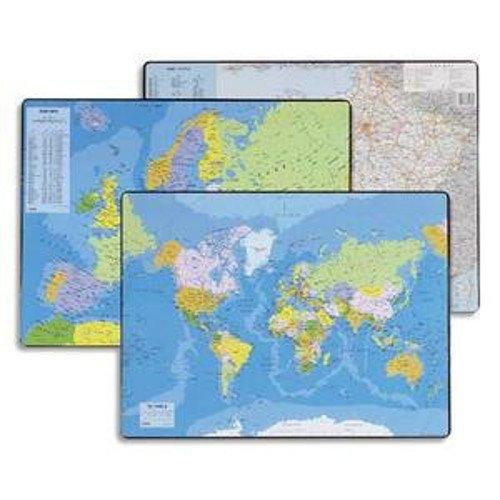 Esselte Sous-Main Carte du Monde, Dimensions : 41 x 54 cm, 32188