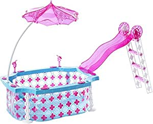 Barbie cgg91 glam piscina giochi e giocattoli for Piscina di barbie