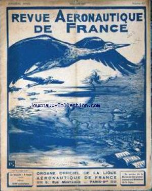 REVUE AERONAUTIQUE DE FRANCE [No 4] du 01/05/1925 - par Collectif