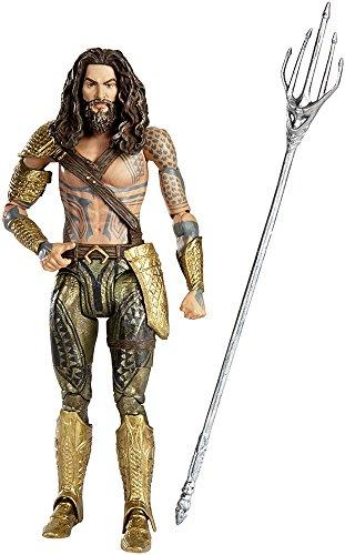 Mattel DNG58 Batman Verses Superman Movie Collector Aquaman Figur, 15 cm