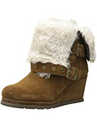 Caterpillar Women's Boisterous Fur Winter Boot Tobacco 7 B(M) US
