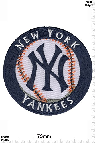 kees - Major-League-Baseball-Team - MLB - Sport USA - Sport USA - New York Yankees - Aufnäher - zum aufbügeln - Iron On ()