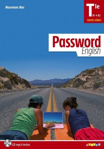 Password English Tle - Manuel + CD MP3 por Hugues Azaïs