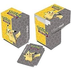 Ultra Pro Deck box Pikachu Pokemon 80 cartas