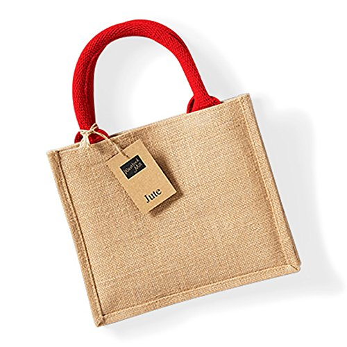 Westford Mill, Borsa tote donna Taglia unica Natural/ Bright Red Taglia unica