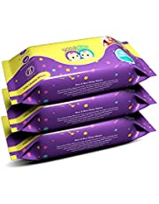 Roo & Boo Paraben Free 99% Water Baby Wet Wipes (72 pcs/pack) (Pack of 3)