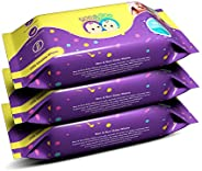Roo & Boo Baby Wet Wipes - Paraben Free 99% Water Wipes (72 pcs/pack) (Pack o