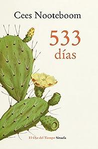 533 días par Cees Nooteboom