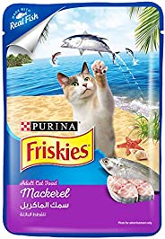 Purina Friskies Mackerel Adult Wet Cat Food 80g