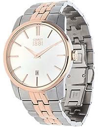 Cerruti 1881 CRA117STR07MRT Reloj de pulsera para hombre