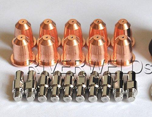 PR0110 ELECTRODO DE PLASMA PD0116-08 PUNTA Φ0 8 FIT TRAFIMET ERGOCUT S45 ANTORCHA  20PCS