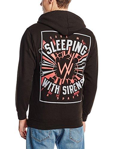 Plastichead Herren Sweatshirt Sleeping With Sirens Bomb Hswz Schwarz - Schwarz