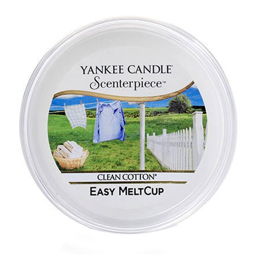 "Yankee Candle ""Clean Cotton"" Scenterpiece MeltCups, weiß"