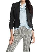 ESPRIT Collection Damen Blazer 123EO1G008 Slim Fit