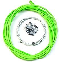 WINOMO Fahrrad Universal Bremskabel und Gehäuse Set (grün)