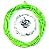 VORCOOL Cable de freno de bicicleta bicicletas universales Accesorios de repuesto de cable de cambio de carretera (verde)
