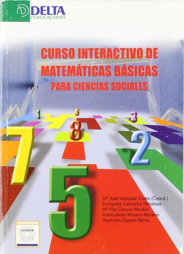 Curso interactivo de matemáticas básicas para ciencias sociales por María José Vázquez Cueto