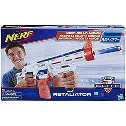 Nerf Elite Retaliator et Flechettes Nerf Elite Officielles
