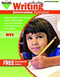 Newmark Learning Everyday Intervention Activities for Writing Grade 1 Book