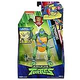 The Rise of The Teenage Mutant Ninja Turtles - Deluxe Ninja Attack Action Figures - Leonardo Backflip Attack