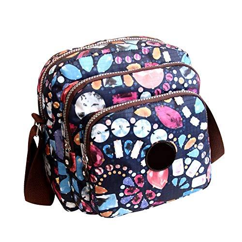 Ardorman Frauen Crossbody Schulter Messenger Bag, Rucksack Handtaschen Student Notebook Bag für Student Shopping Travel Party