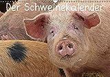 Der Schweinekalender (Wandkalender 2019 DIN A3 quer): Glückliche Schweine in artgerechter Haltung, sowohl verschiedene alte Hausschweinrassen als auch ... (Monatskalender, 14 Seiten ) (CALVENDO Tiere)
