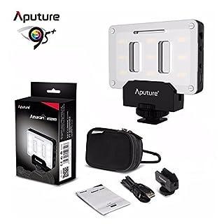 Aputure AL-M9 Mini LED Licht Taschen Größe LED Füllen Licht 5500K mit 9pcs SMD Licht Perlen für DSLRs on Camera Video Light
