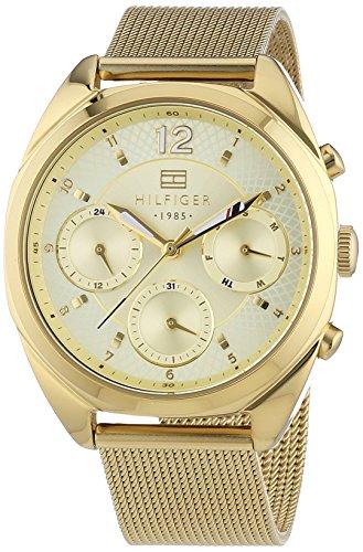 Tommy Hilfiger Watches Damen-Armbanduhr MIA Analog Quarz Edelstahl beschichtet 1781488