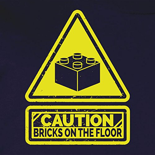 Caution: Bricks on the Floor - Stofftasche / Beutel Pink