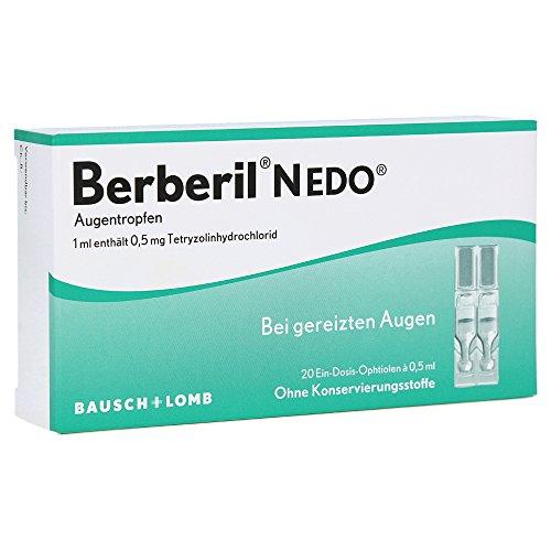 Berberil N Augentropfen EDO, 20 St. (Augentropfen Schmerzen)