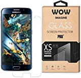 Wow Imagine™ Pro HD+ 9H Hardness 2.5D 0.3mm Toughened Premium Oil Resistant Coated Tempered Glass Screen Protector for Samsung Galaxy J7 Pro
