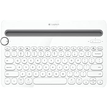541492c3467 Logitech K480 Multi Device Bluetooth Keyboard for PC, Smartphone and Tablet  - White