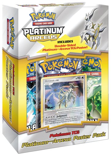 Pokemon Company International - Pokemon Platinum Arceus Poster Pack *Anglais*