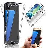 Vandot - Cover per Samsung Galaxy S7Edge, Antiscivolo, Sottile, Invisibile, in Gel Silicone TPU, Colore: Trasparente