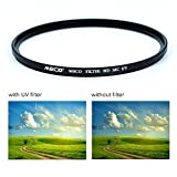 MECO Optical 77MM HD-MC-UV Filter - Multi-coated, 99.8 Light Transmittance, Anti-fingerprint, Ultra Slim