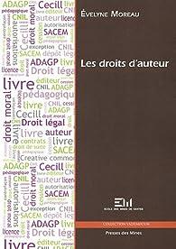 Les droits d'auteur par Evelyne Moreau