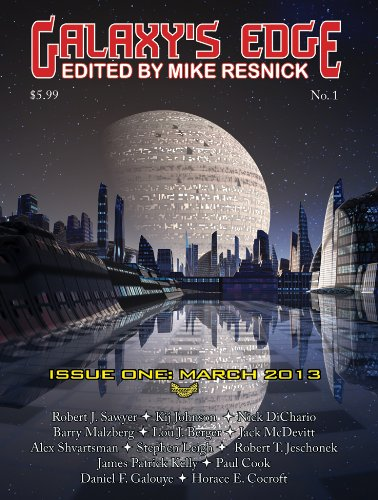 Galaxy's Edge Magazine: Issue 1, March 2013 (Galaxy's Edge) (English Edition)