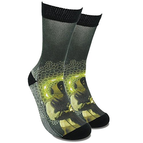 fools-day-famous-painting-socks-for-men-women-art-patterned-crew-socks