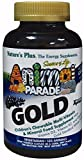 Animal Parade Gold, Children's Chewable Multi-Vitamin & Mineral, Assorted Flavours, 120 Animals from Nature's Plus