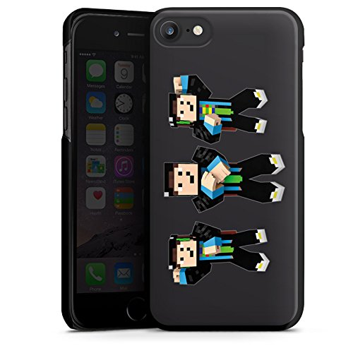 Apple iPhone X Silikon Hülle Case Schutzhülle GommeHD Fanartikel Merchandise Gomme Style Hard Case schwarz