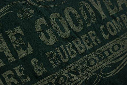 Goodyear T-Shirt Saloon Green
