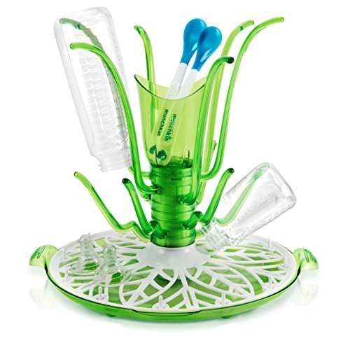 Preisvergleich Produktbild Munchkin Flaschenständer, Babyflaschen Trocknerständer, Rondell - Modernes Design - aus USA