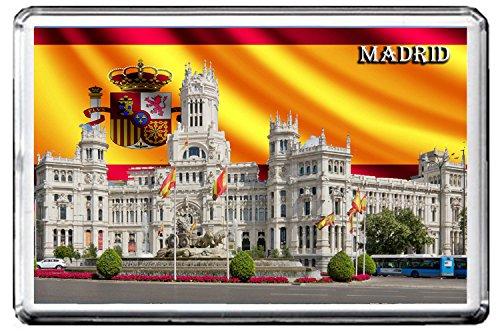 MADRID KÜHLSCHRANKMAGNET 002 THE CAPITAL CITY OF SPAIN REFRIGERATOR MAGNET (Magnet Madrid)