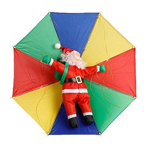 Malloom® Frohe Weihnachten Dekor Spielzeug Puppe Geschenk Haus Baum Kinder Kinder Santa Fallschirm (Niedliche Für Kindergarten Basteln Halloween)