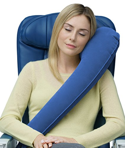 Travelrest - Ultimate Travel Pillow - Ergonomic - Lean...