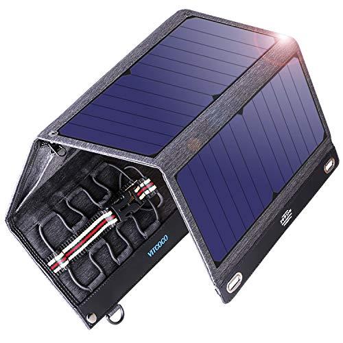 Partiendo de nuestra querida Tecnología TIR-C, el panel solar plegable con doble puerto de 29W de VITCOCO proporciona una fuente de alimentación limpia, renovable y económica para la batería de su vehículo.También puede llevarla consigo de viaje para...