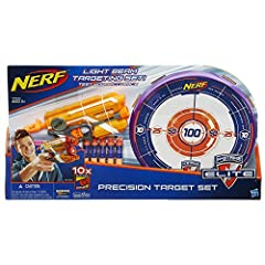 Idea Regalo - Hasbro A9535EU4 Nerf N-Strike Elite Precision Target Set